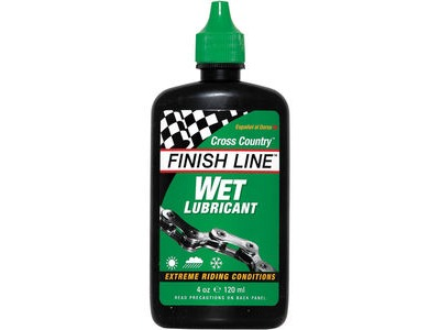 Finish Line Cross Country Wet chain lube 4oz / 120ml