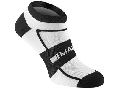 Madison Sportive men's low sock twin pack, white / black