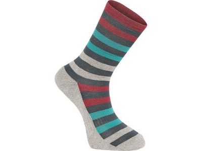 Madison Isoler Merino 3-season sock, ink navy pop