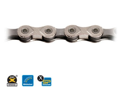 KMC X10-93 10 Speed 114 Link Chain Silver