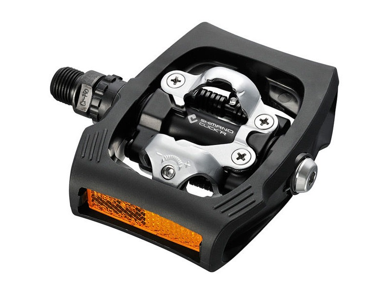 Shimano PD-T400 CLICK'R pedal, Pop-up mechanism, black click to zoom image